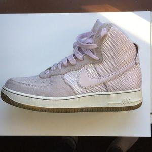 Nike Air Force 1 premium lavender women's size 9